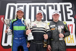 Brands Hatch Indy race 1 podium winners